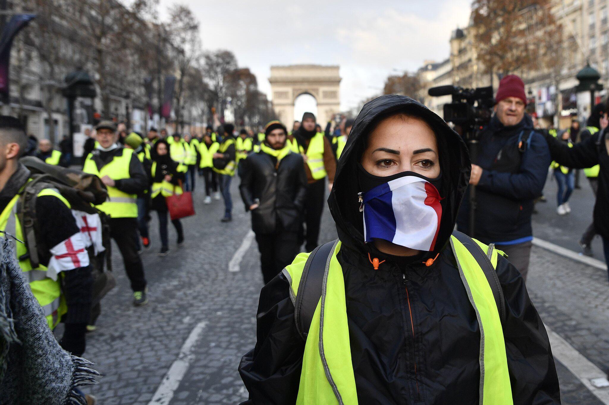 Bild zu Proteste in Frankreich