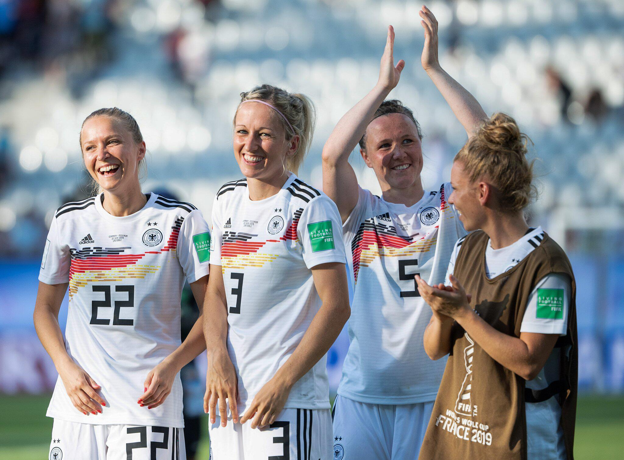 Bild zu Frauenfußball-WM - Deutschland - Nigeria