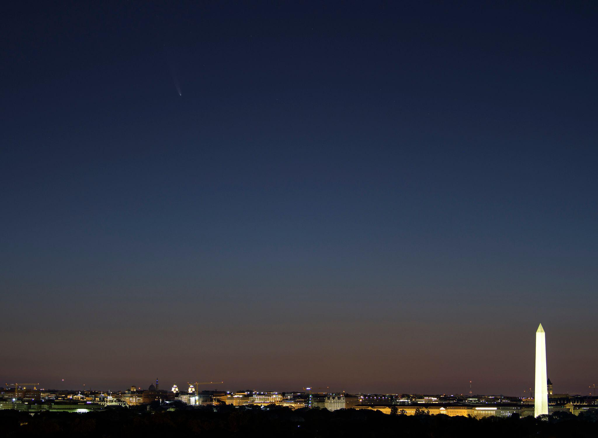 Bild zu Komet Neowise