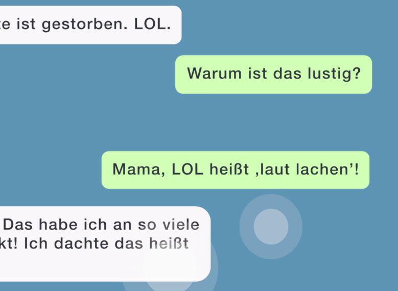 Bild zu SMS von Mama