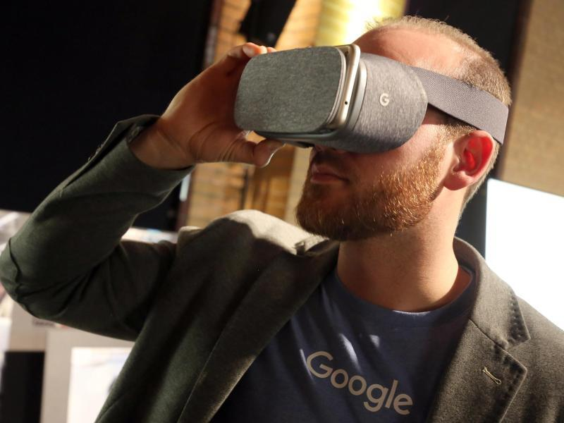 Bild zu VR-Brille von Google