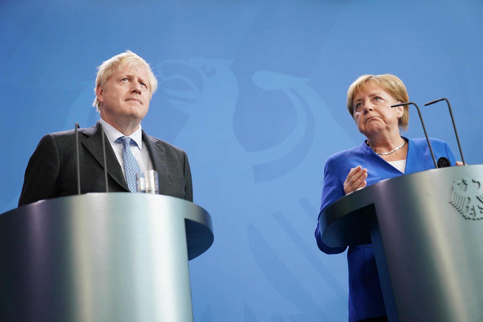 Bild zu Britischer Premierminister Boris Johnson in Berlin
