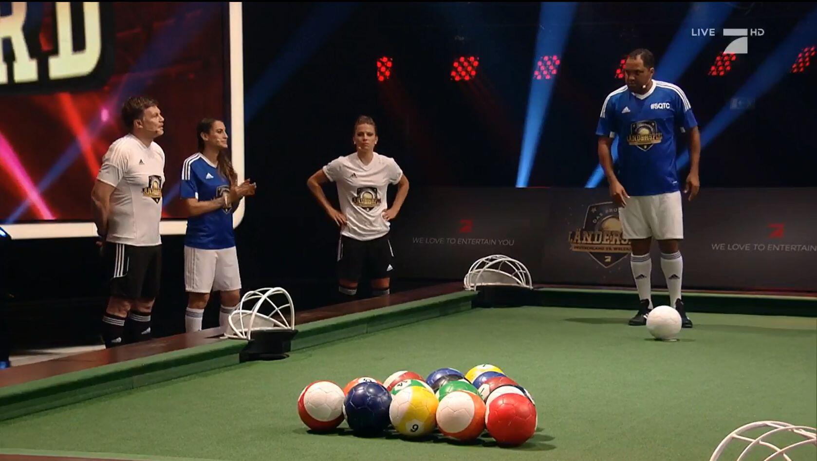 Bild zu ProSieben, Länderspiel
