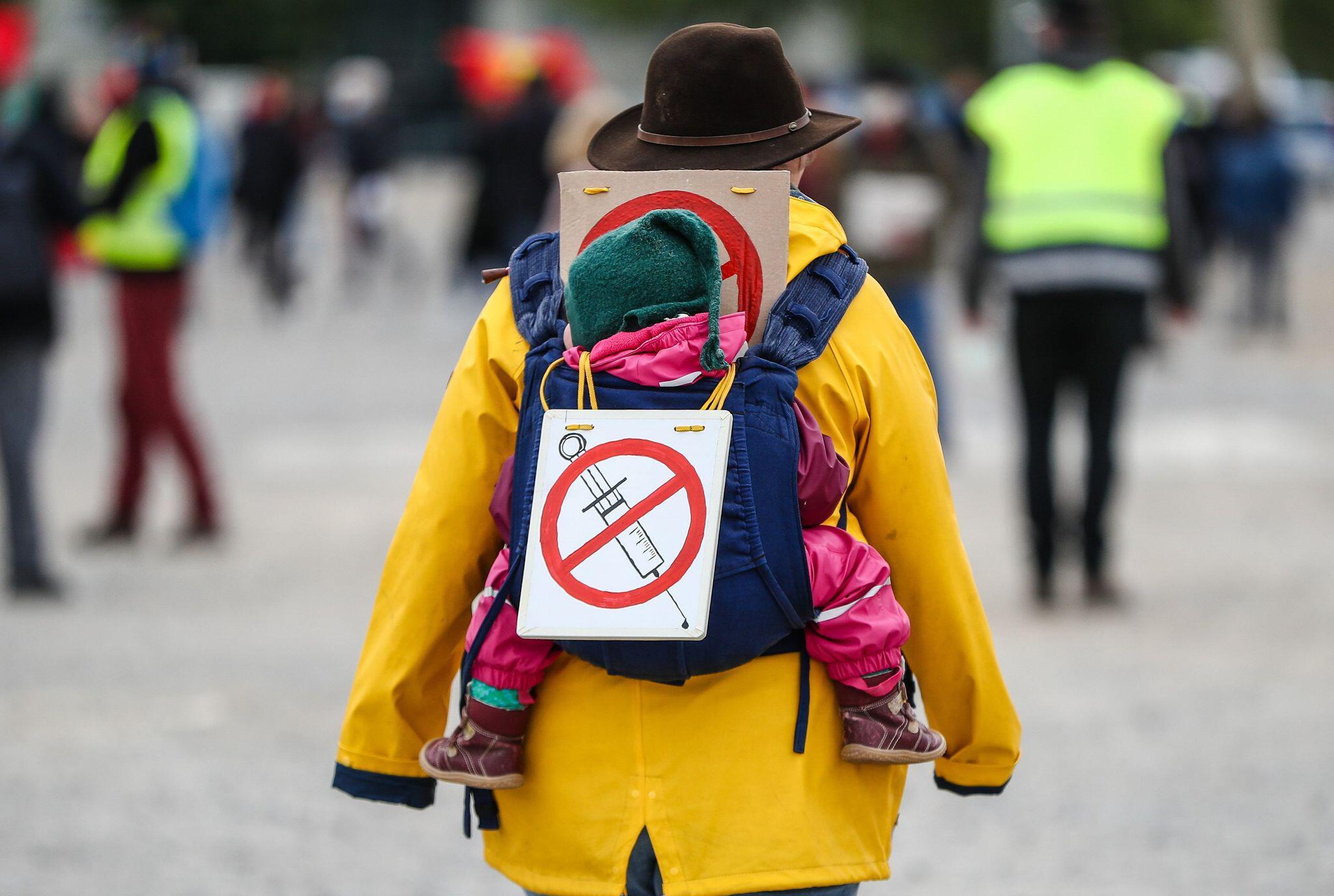 """Bild zu Protestkundgebung Initiative """"Querdenken"""" - Impfgegner"""