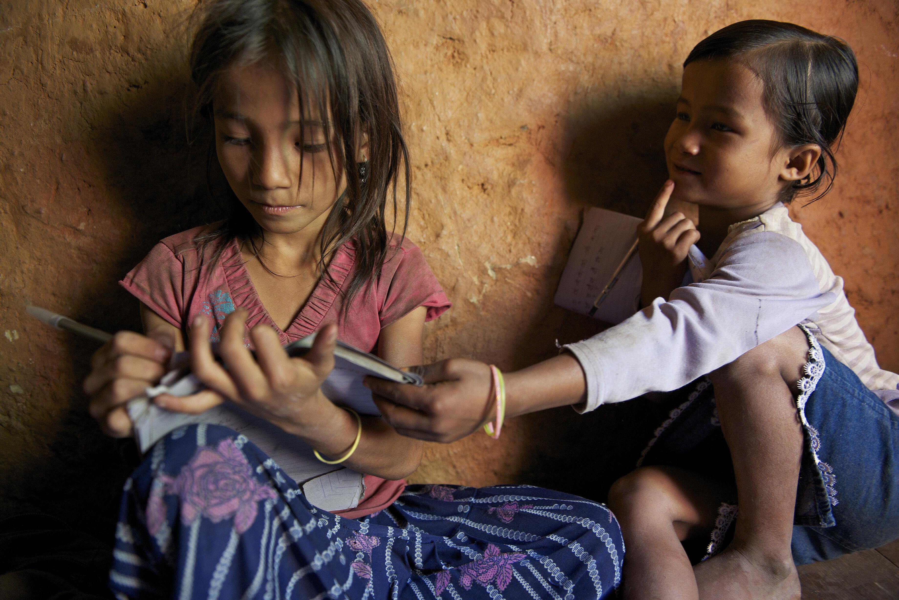 Bild zu Mädchen Nepal