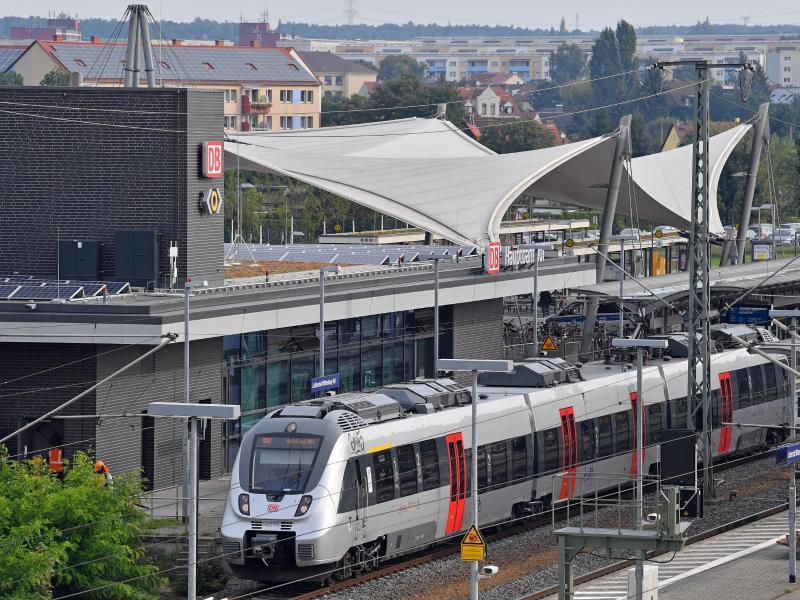 Bild zu Bahnhof in Wittenberg