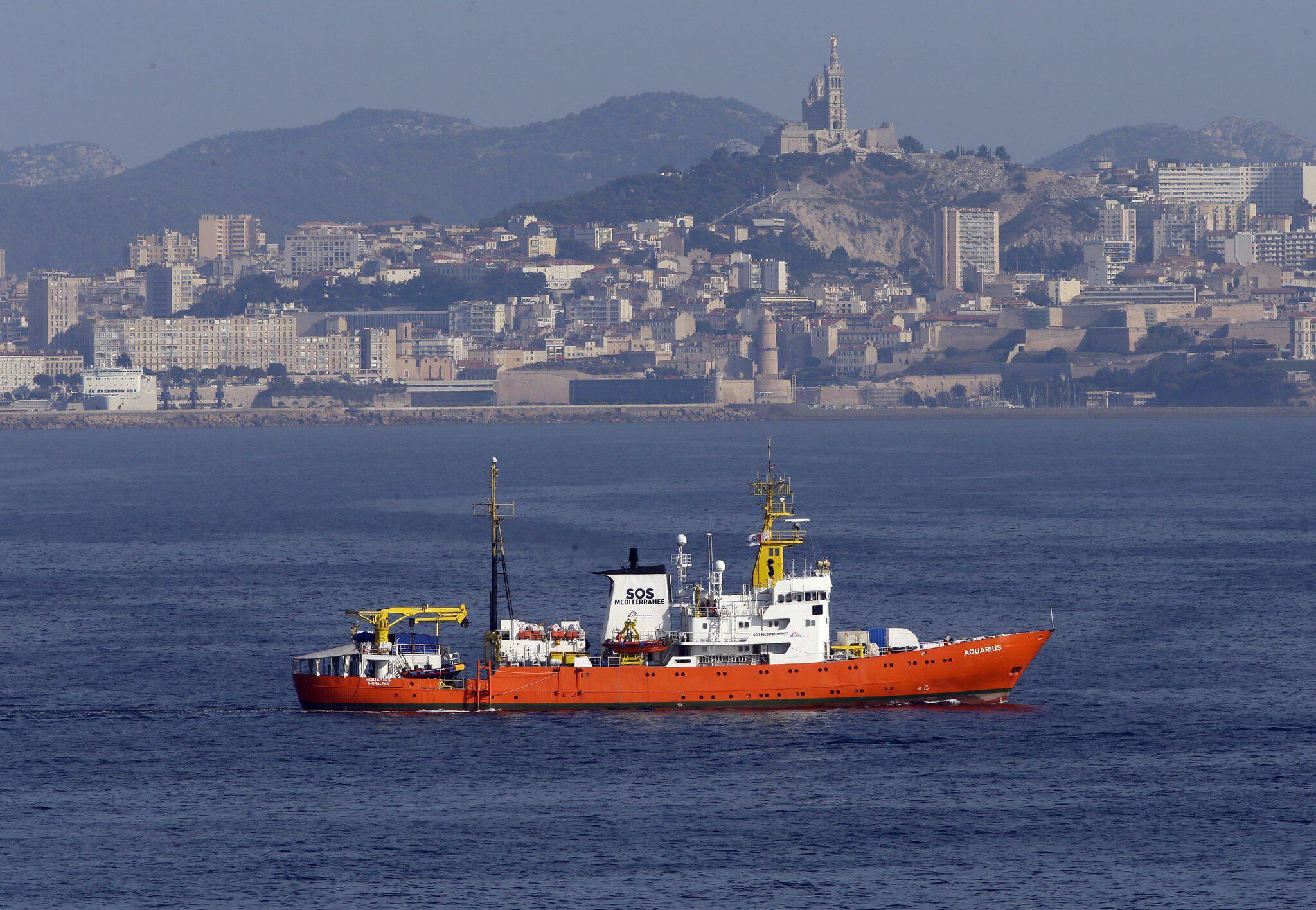 Bild zu Rettungsschiff Aquarius fährt wieder