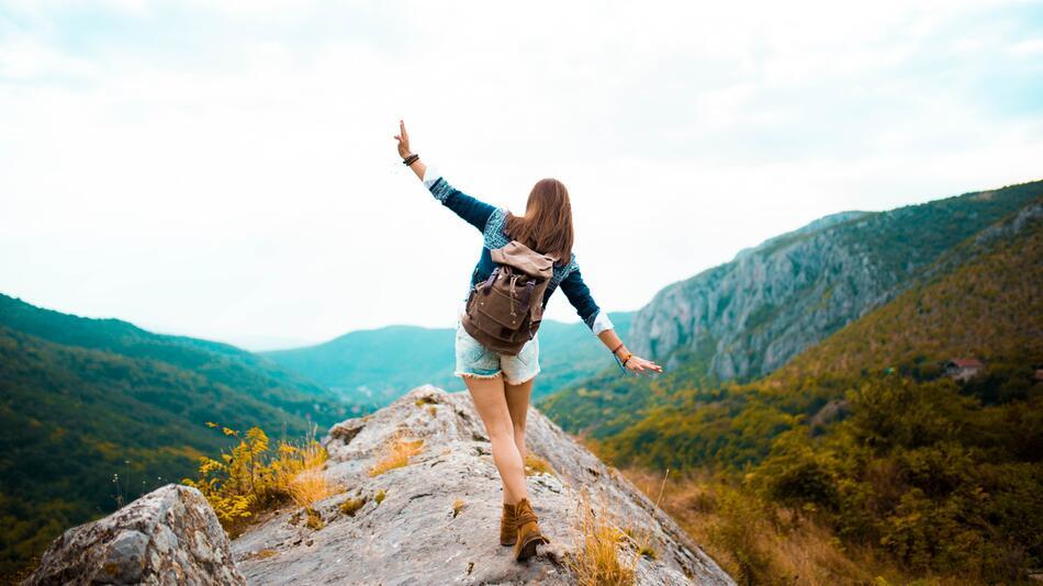 Wandern, Sport, Berge, Outfit, Trekking, Mode, Kleidung, Gebirge