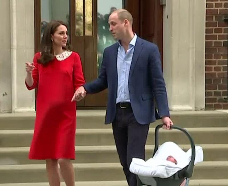 Bild zu Prinz Louis: Geburtsurkunde veröffentlicht!