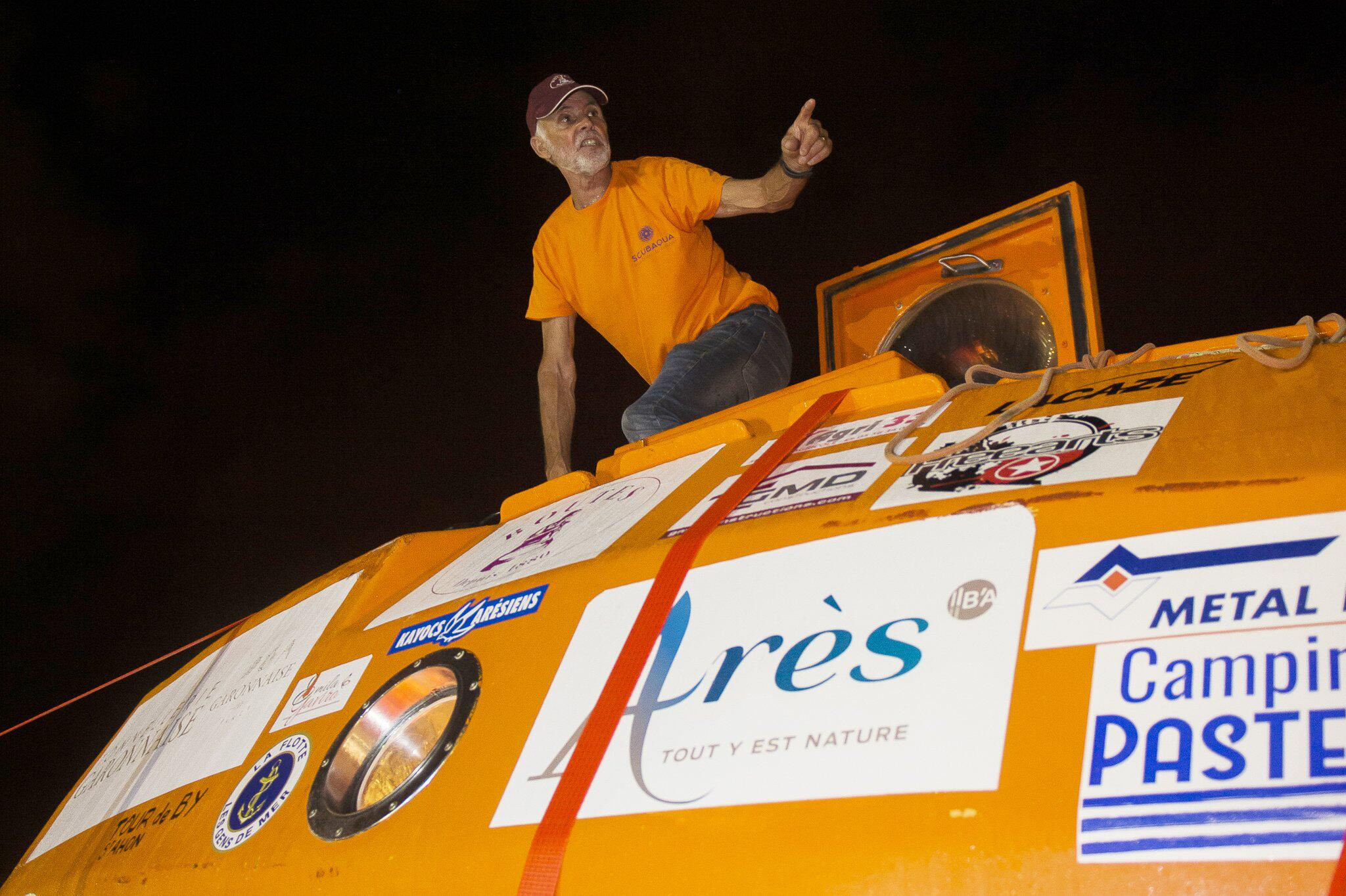 Bild zu 72-jähriger Abenteurer überquert den Atlantik
