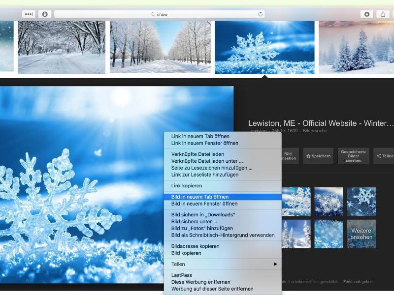 Bild zu Bild in einem Browser