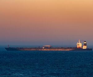 Supertanker mit iranischem Öl verlässt Gibraltar