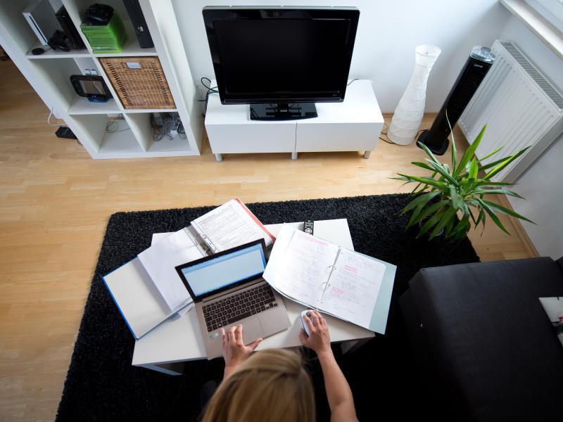 Bild zu Das Büro in der Wohnung