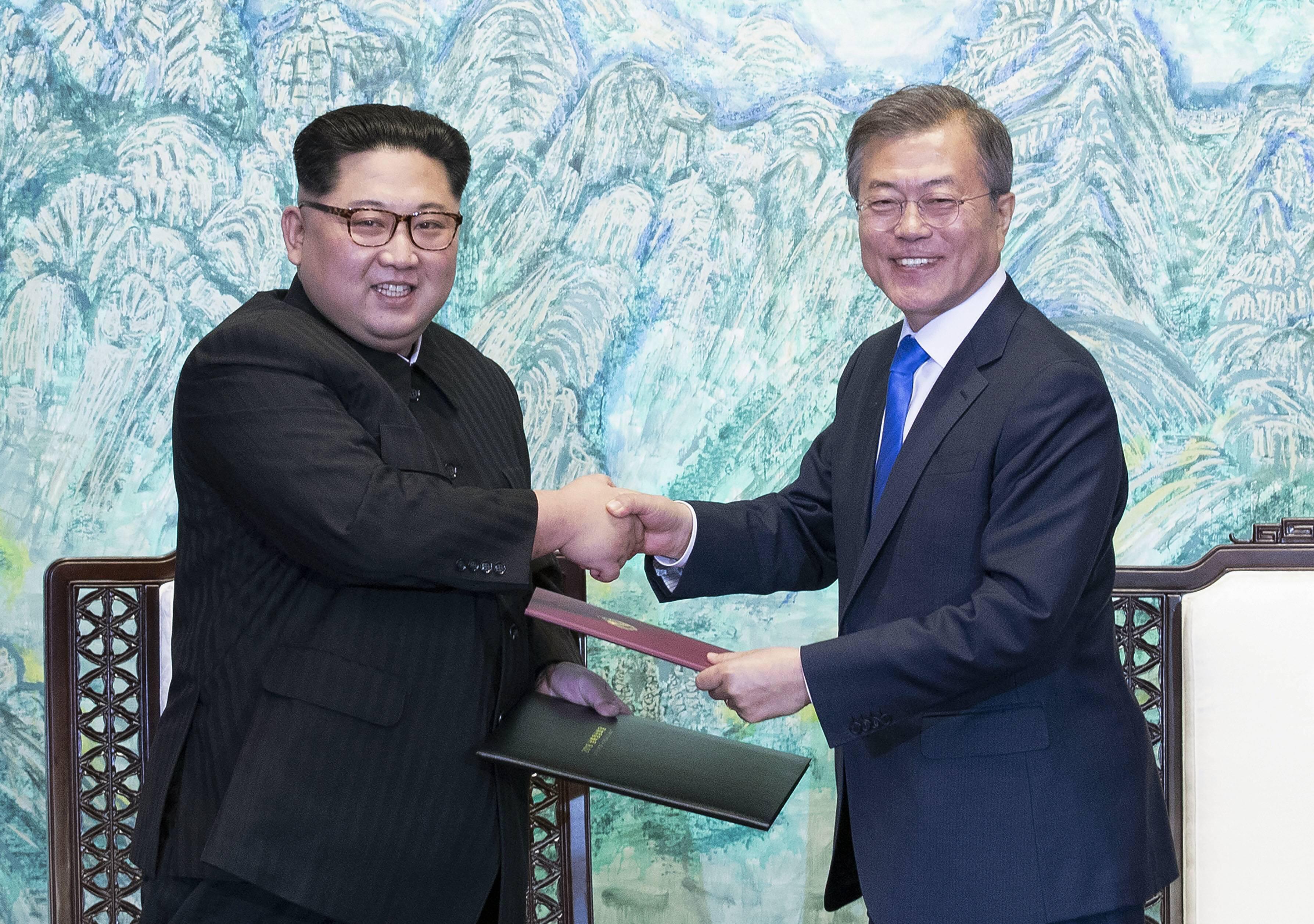 Bild zu Nordkorea, Südkorea, Panmunjom, Kim Jong Un