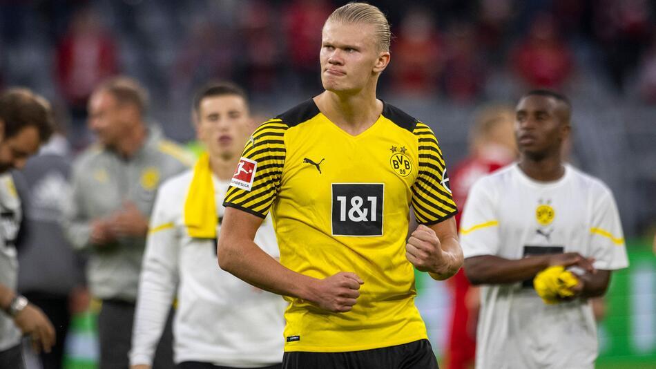 Fußball, Bundesliga, Borussia Dortmund, Erling Haaland