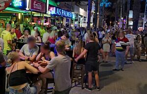 Mallorca, Ballermann, Urlauber, Touristen, Tourismus, Balearen, Spanien, Spaß, Gastronomie