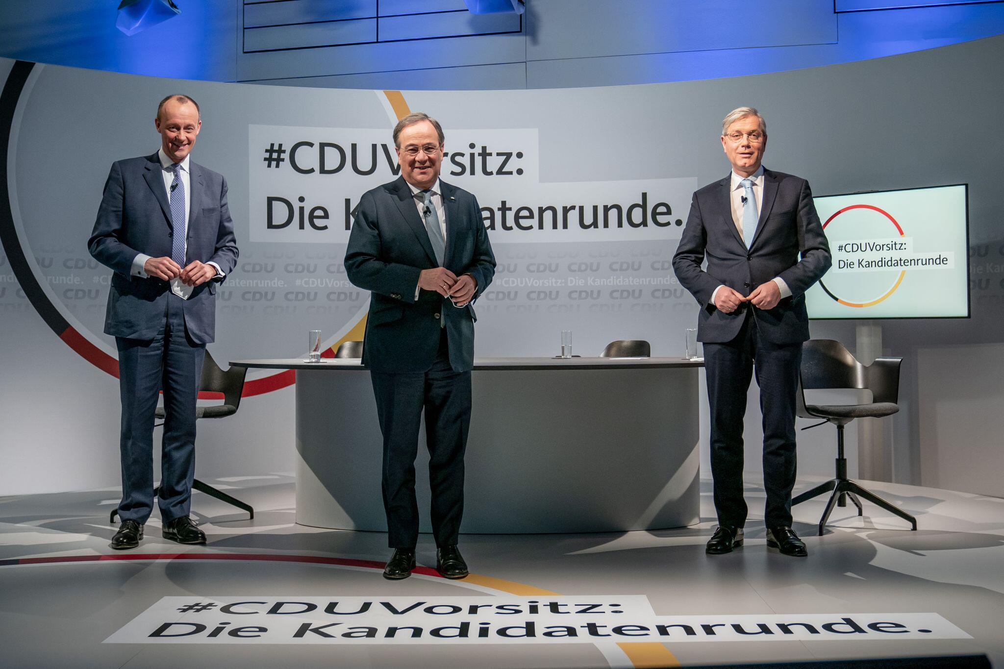 Bild zu Kandidaten für den CDU-Parteivorsitz