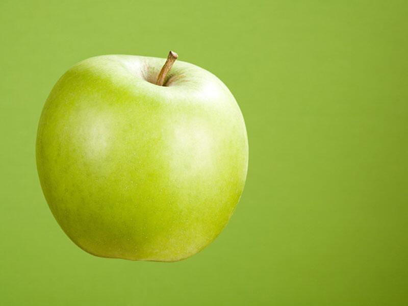 Bild zu grüner Apfel