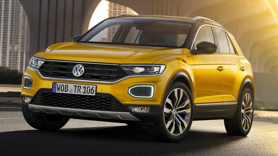 VW T-Roc R-Line