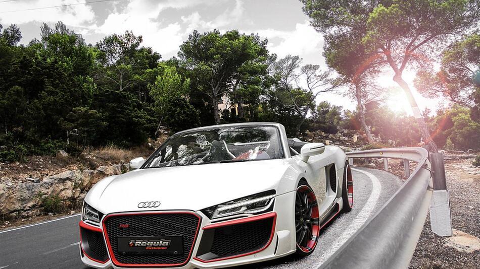 Audi R8 V10 Spyder von Regula Tuning mit mächtig viel Carbon
