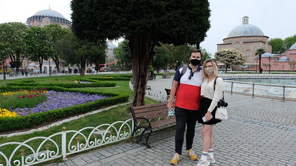 Coronavirus - Touristen in der Türkei
