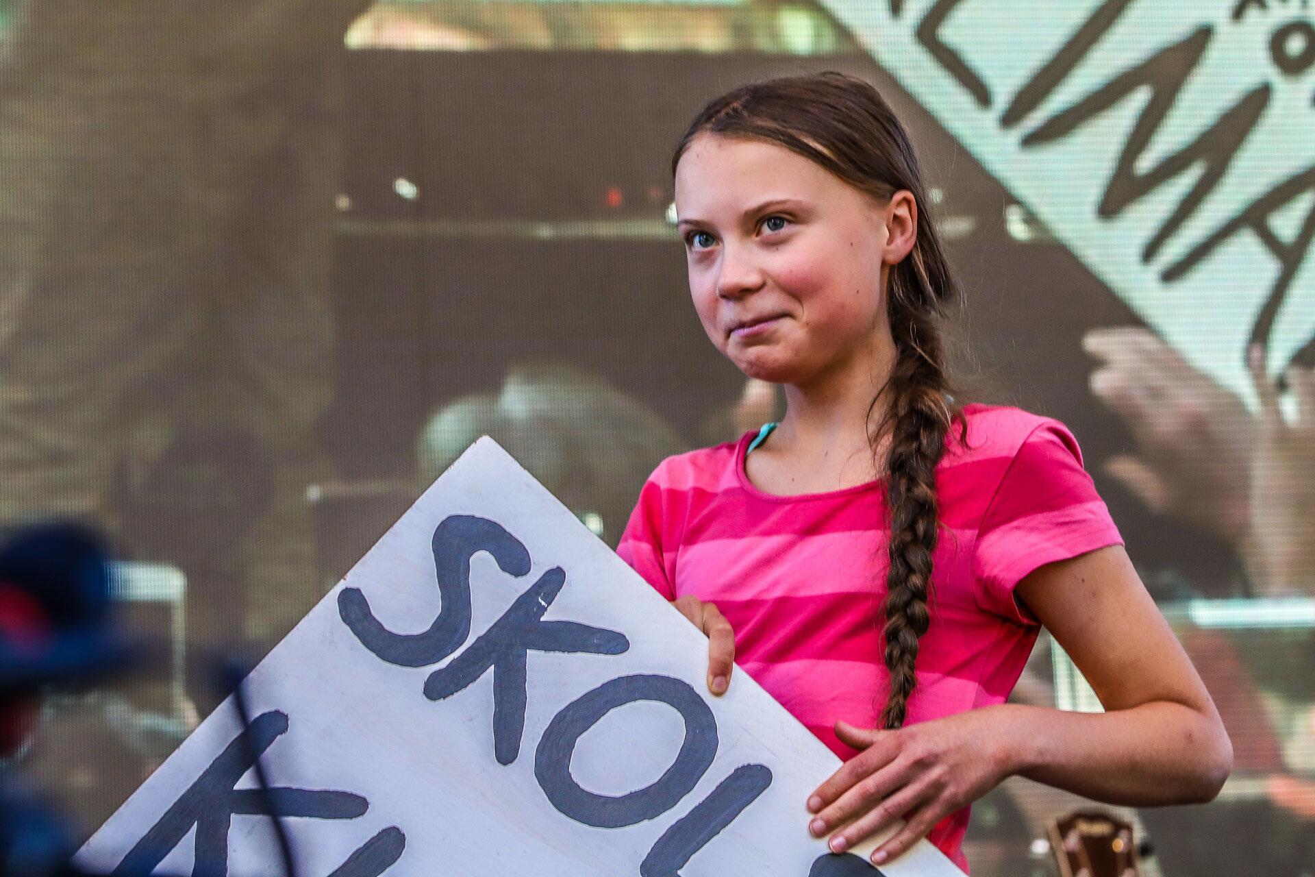 Bild zu Alternativer Nobelpreis - Greta Thunberg