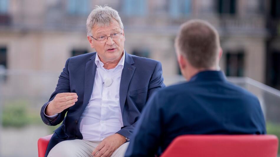 ARD-Sommerinterview mit AfD-Bundessprecher Meuthen
