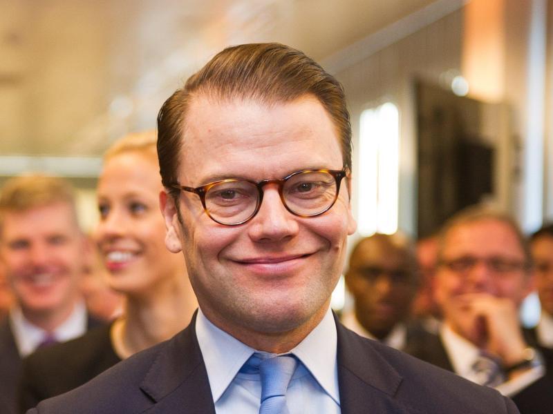 Bild zu Prinz Daniel von Schweden