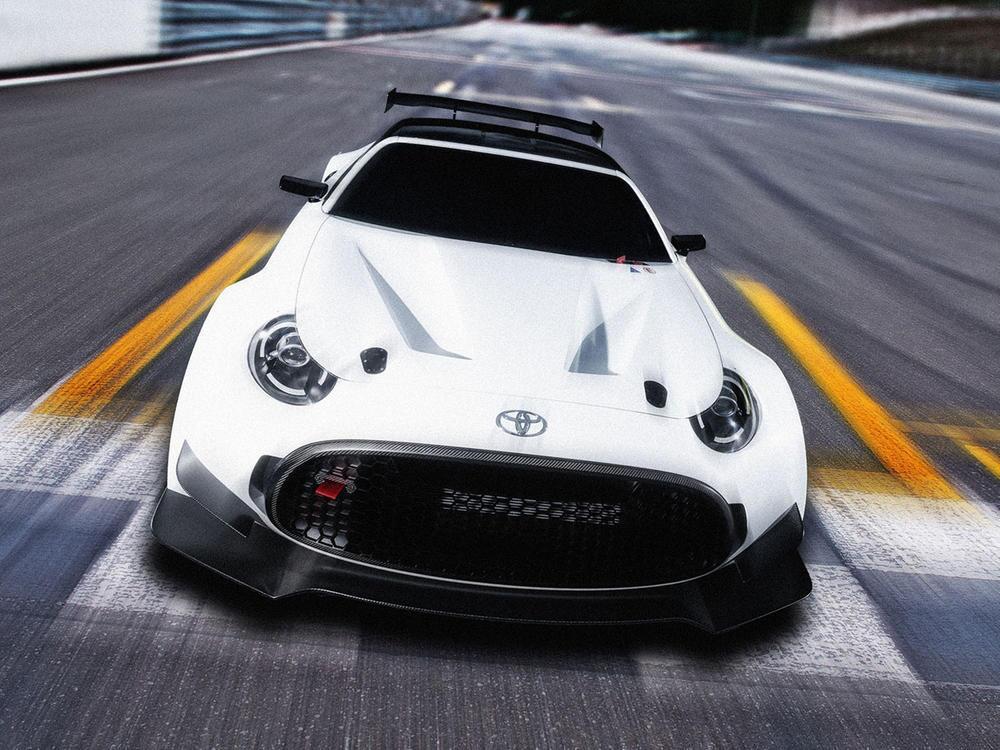 Bild zu Klein, aber oho! Toyota S-FR Racing Concept mit Monster-Spoilern