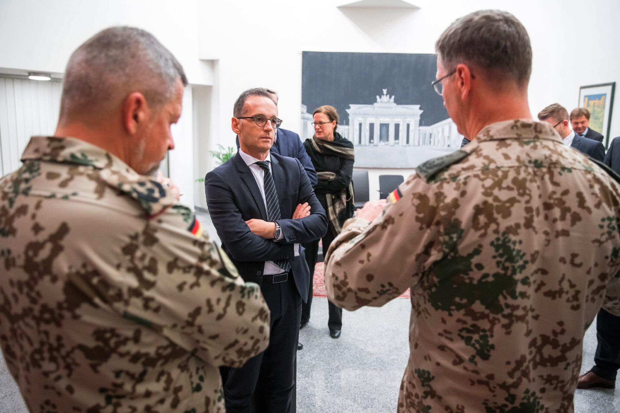 Bild zu German Foreign Minister visits Iraq