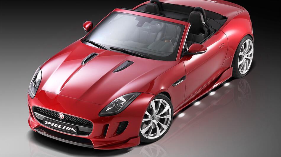 Jaguar F-Type von Piecha Design