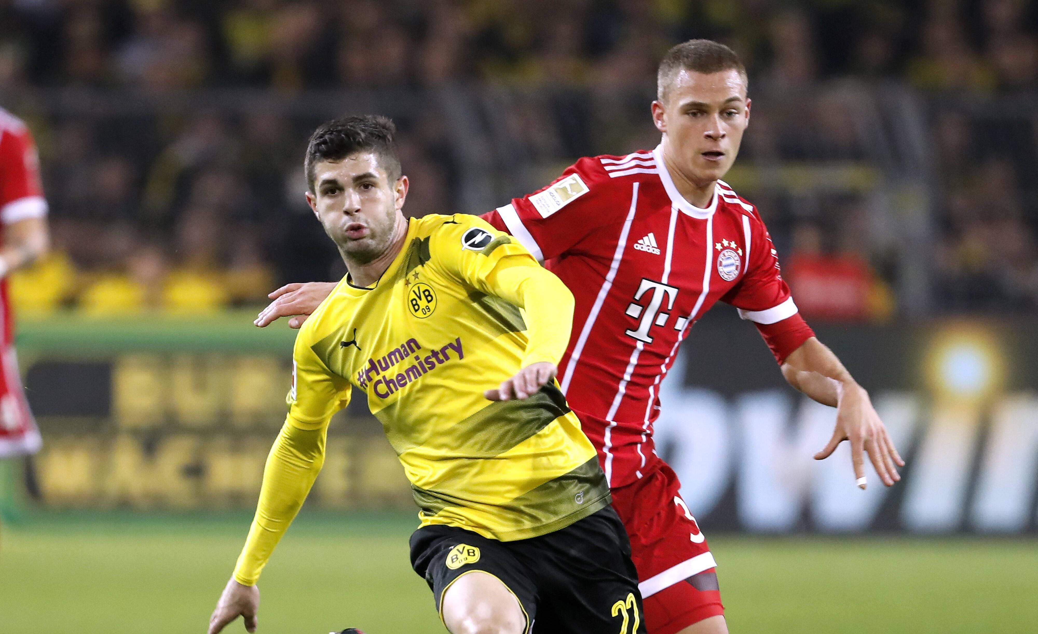 Bild zu FC Bayern, BVB, DFB Pokal, Achtelfinale