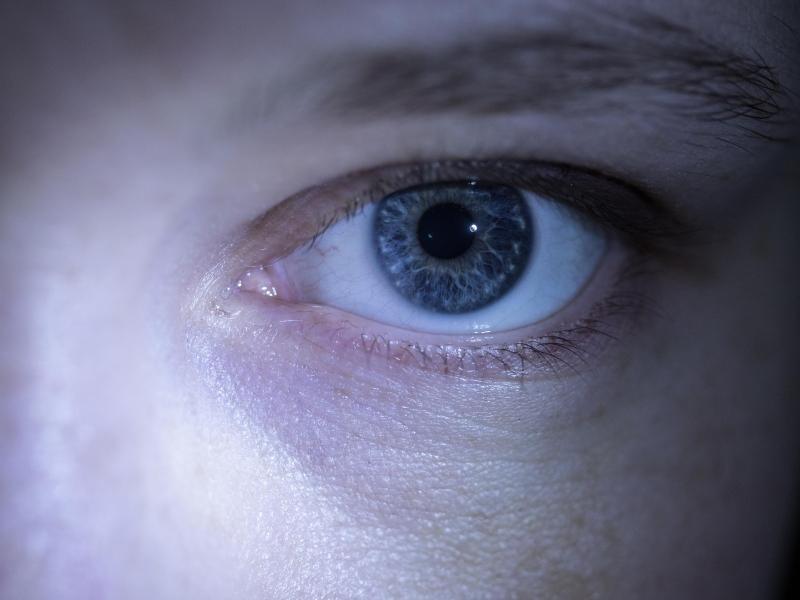 Bild zu Zuckreflex am Auge