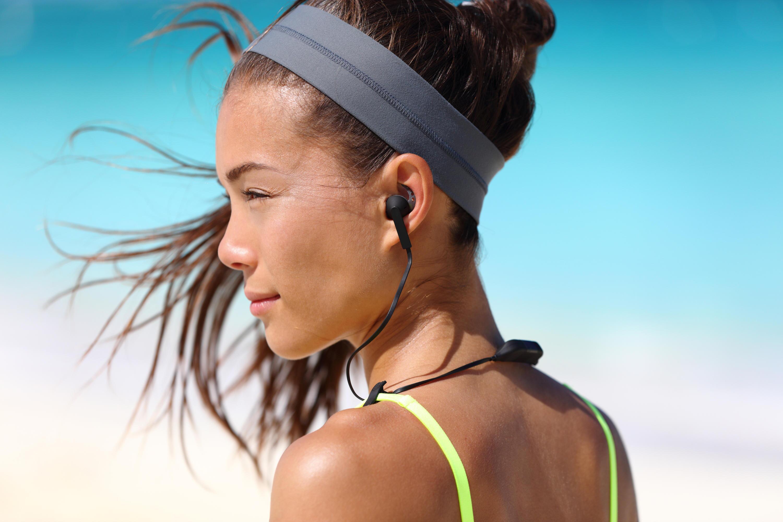 Bild zu Sport, Kopffhörer, Sportkopfhörer, Fitness, Musik, Audio, Training, Outdoor