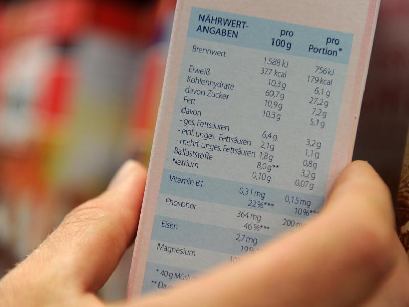Bild zu Lebensmittel-Kennzeichnung
