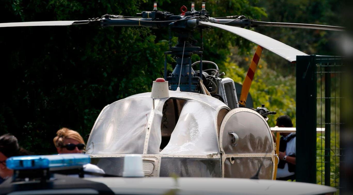 Bild zu Hubschrauber, Flucht, Gefängnis, Frankreich