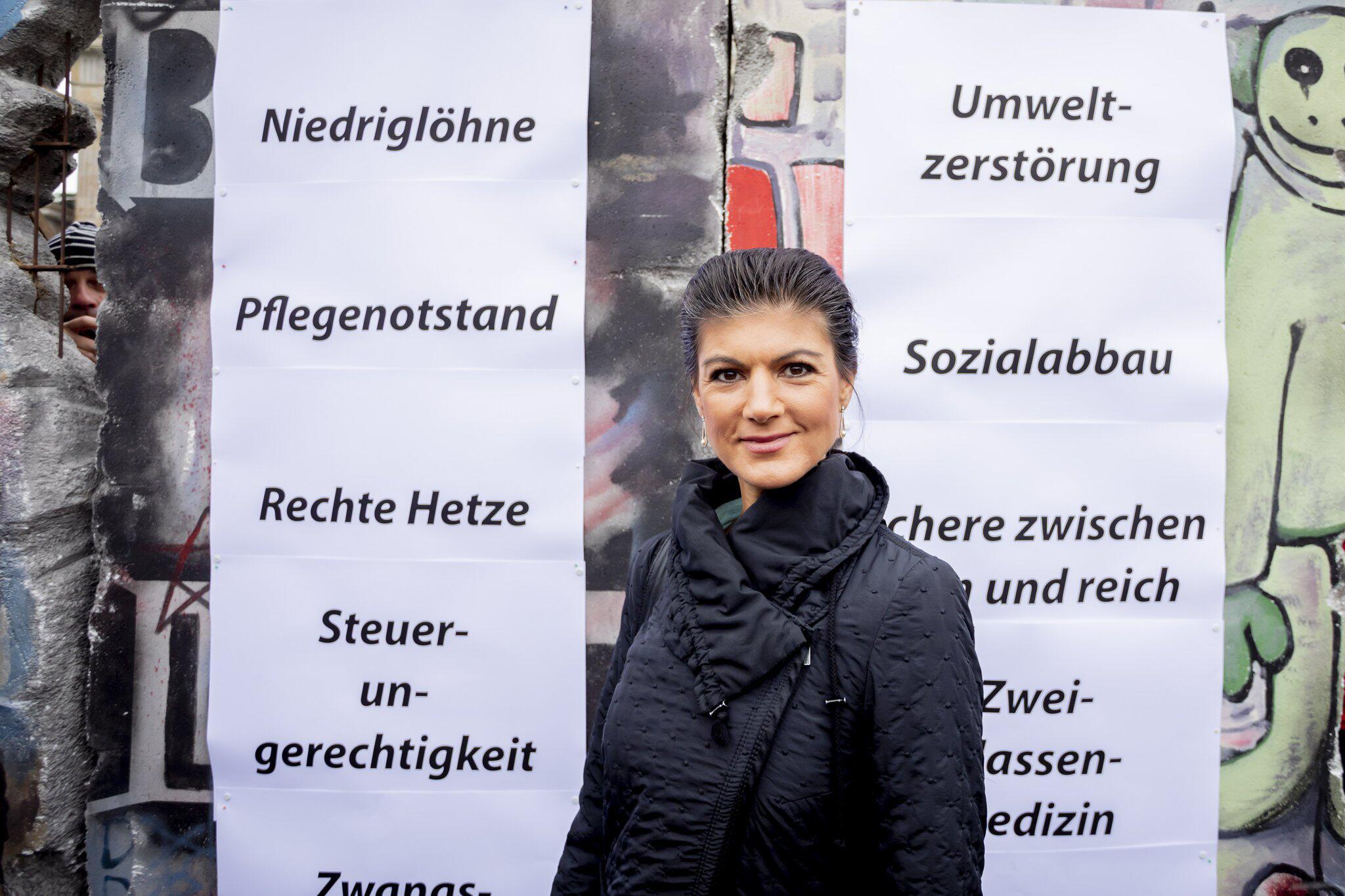 Bild zu Sahra Wagenknecht