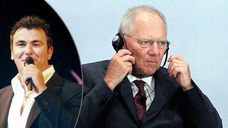 Antonis Remos und Wolfgang Schäuble
