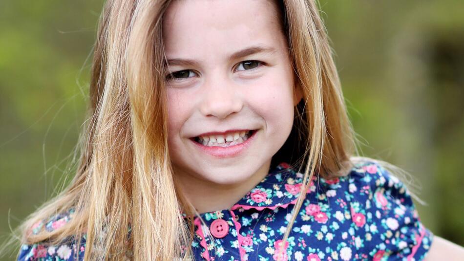 Zum 6. Geburtstag von Prinzessin Charlotte