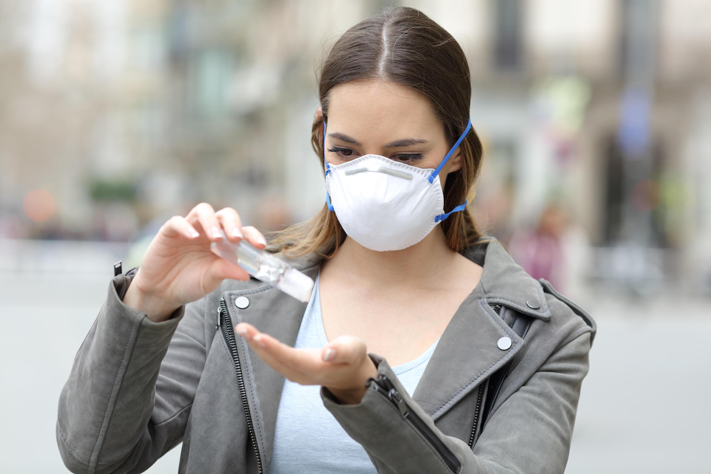 Bild zu corona, corona-krise, hygiene, hygiene-regeln, abstand, hände waschen, desinfizieren, maske
