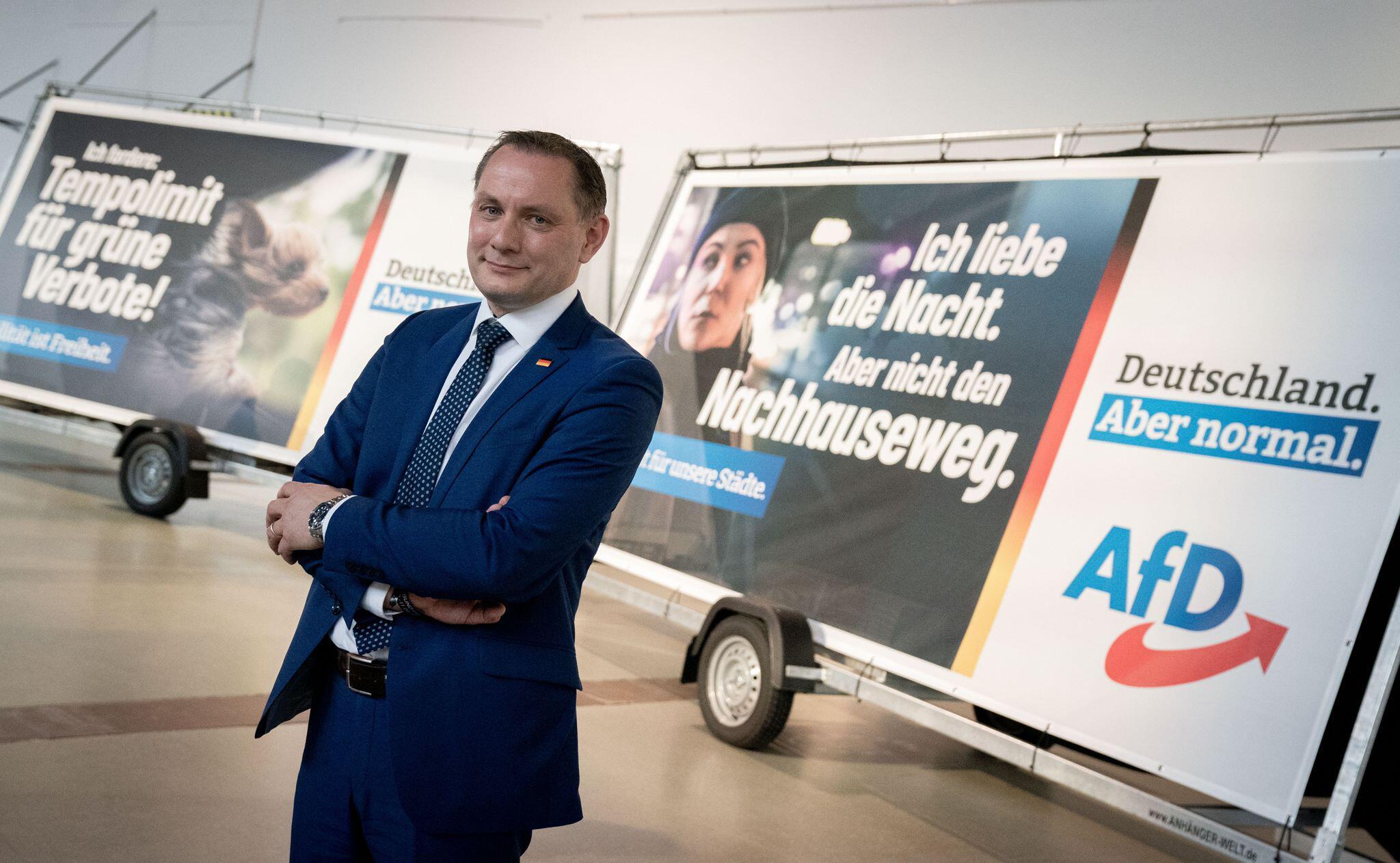 Bild zu Präsentation der AfD-Bundestagswahlkampagne