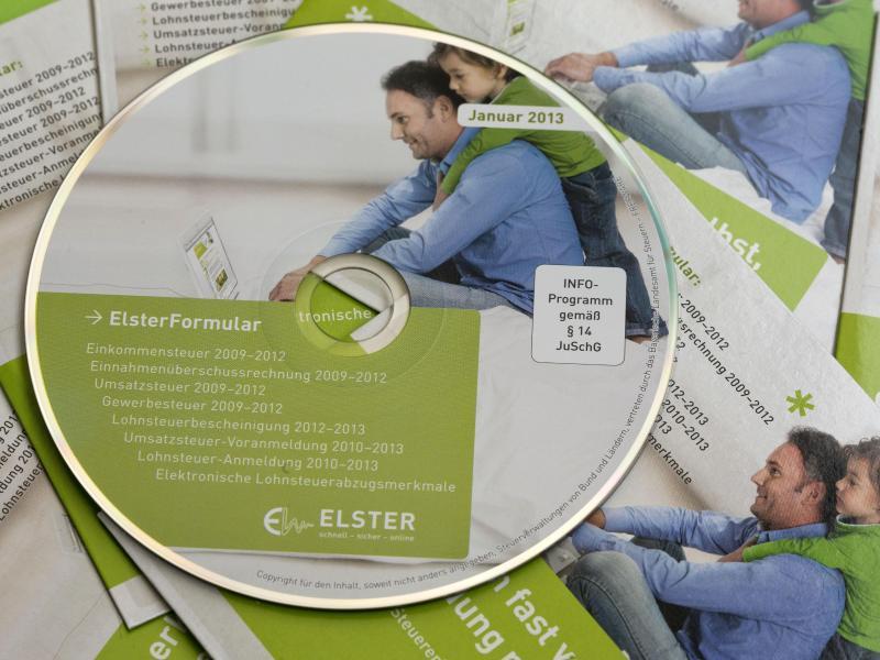 Bild zu Software «ElsterFormular»