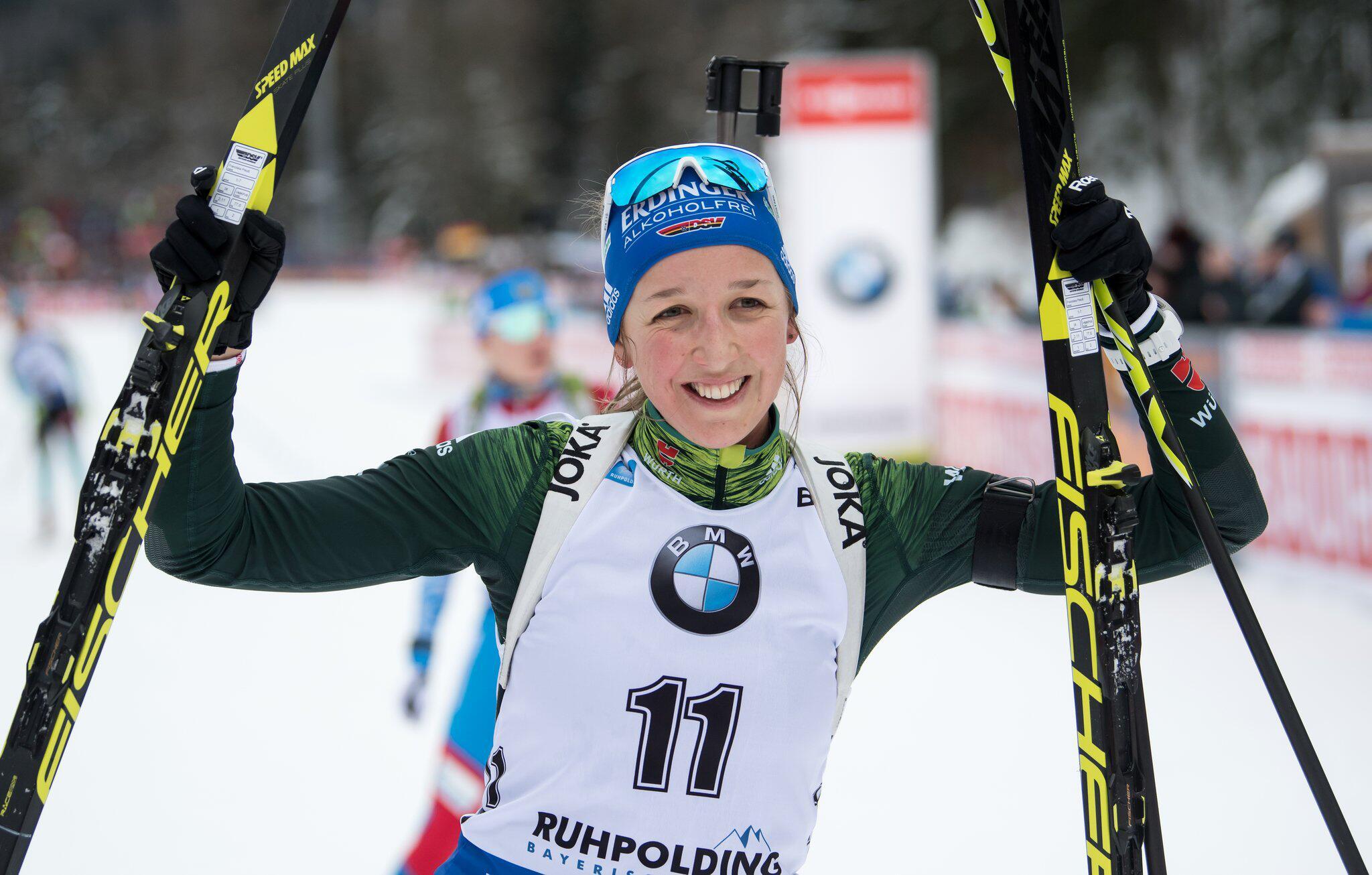 Bild zu Biathlon