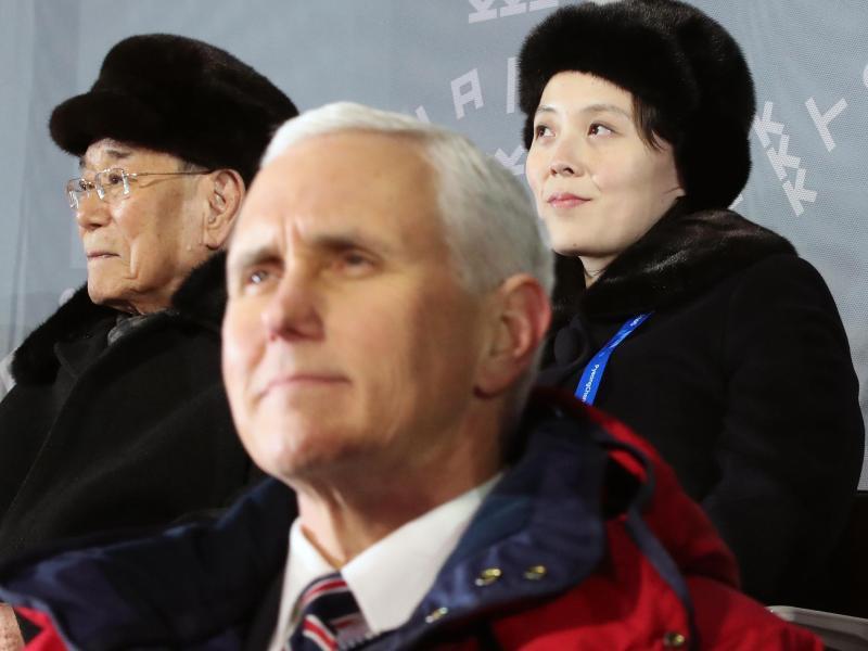 Bild zu Pence in Nordkorea