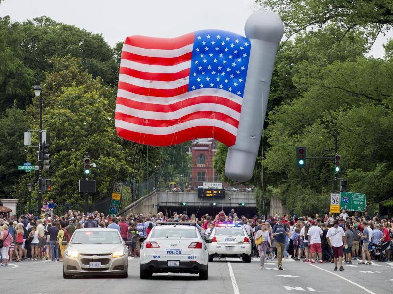 Bild zu Unabhängigkeitstag in den USA