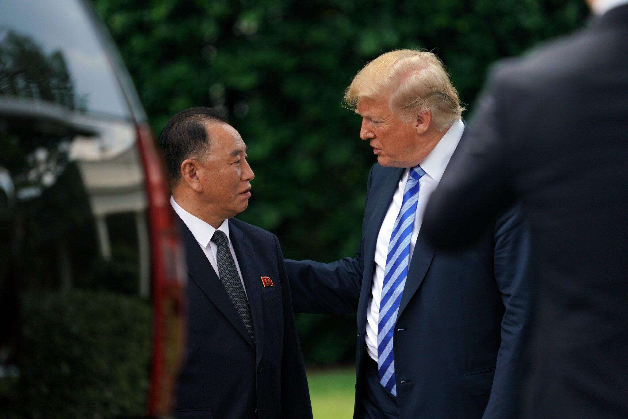 Bild zu Donald Trump, Nordkorea, Kim Yong Chol