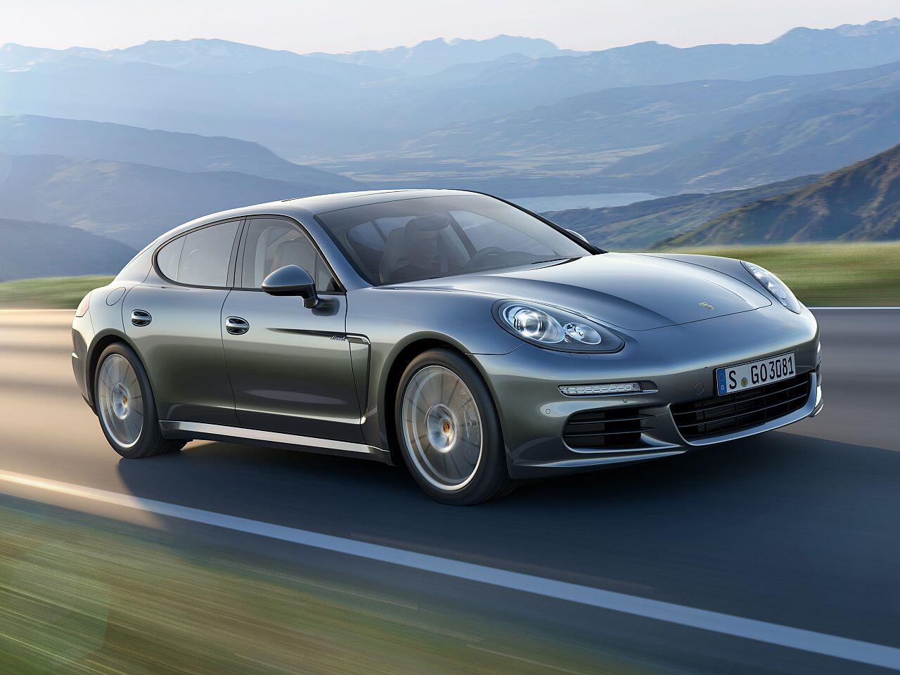 Bild zu Porsche Panamera Diesel