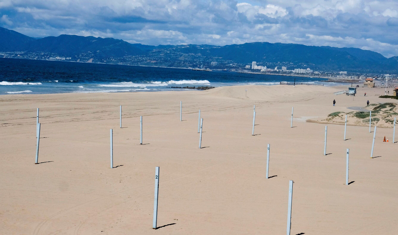 Bild zu Strand, Kalifornien, leer