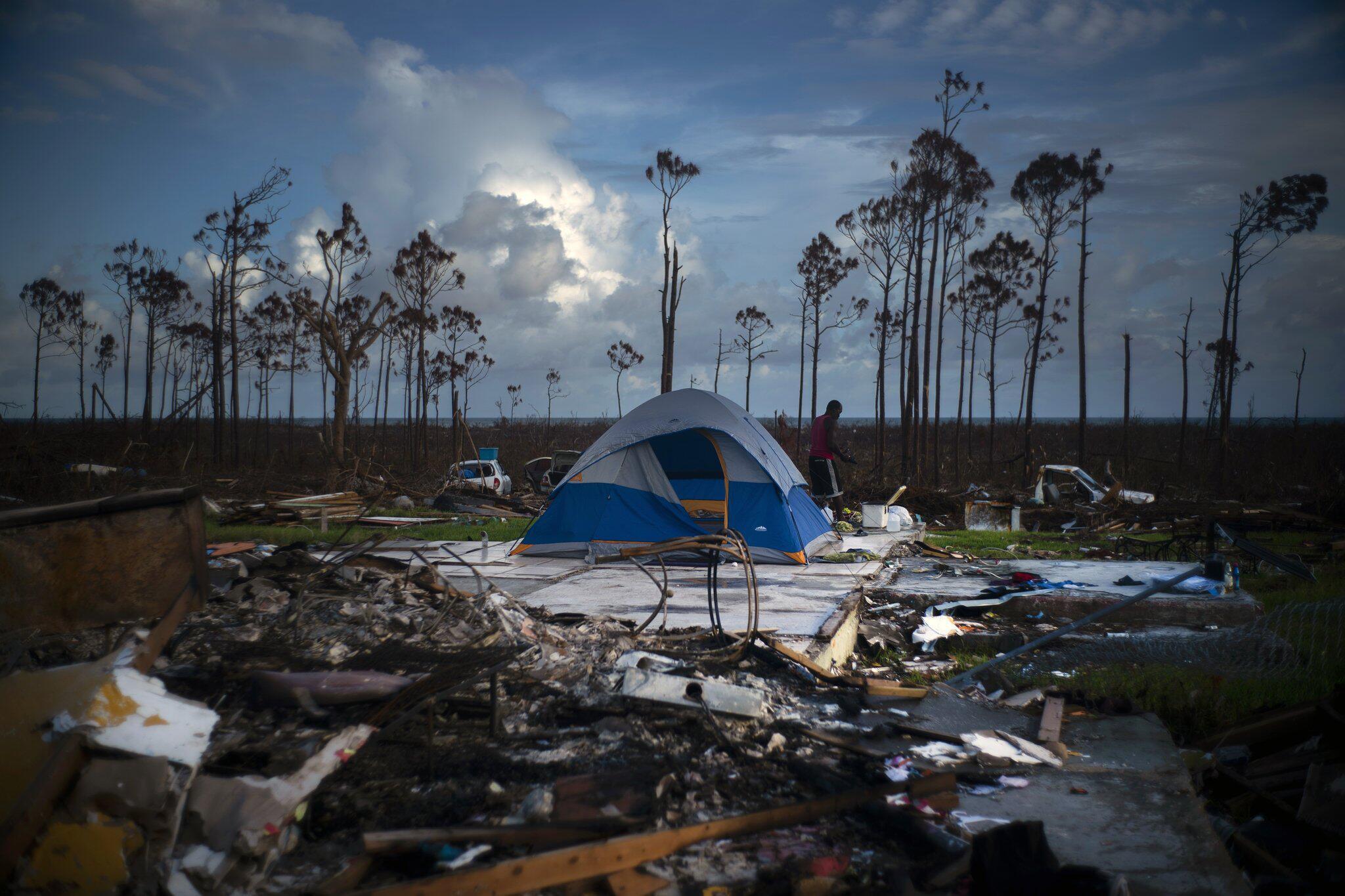 Bild zu Nach Hurrikan «Dorian» - Bahamas