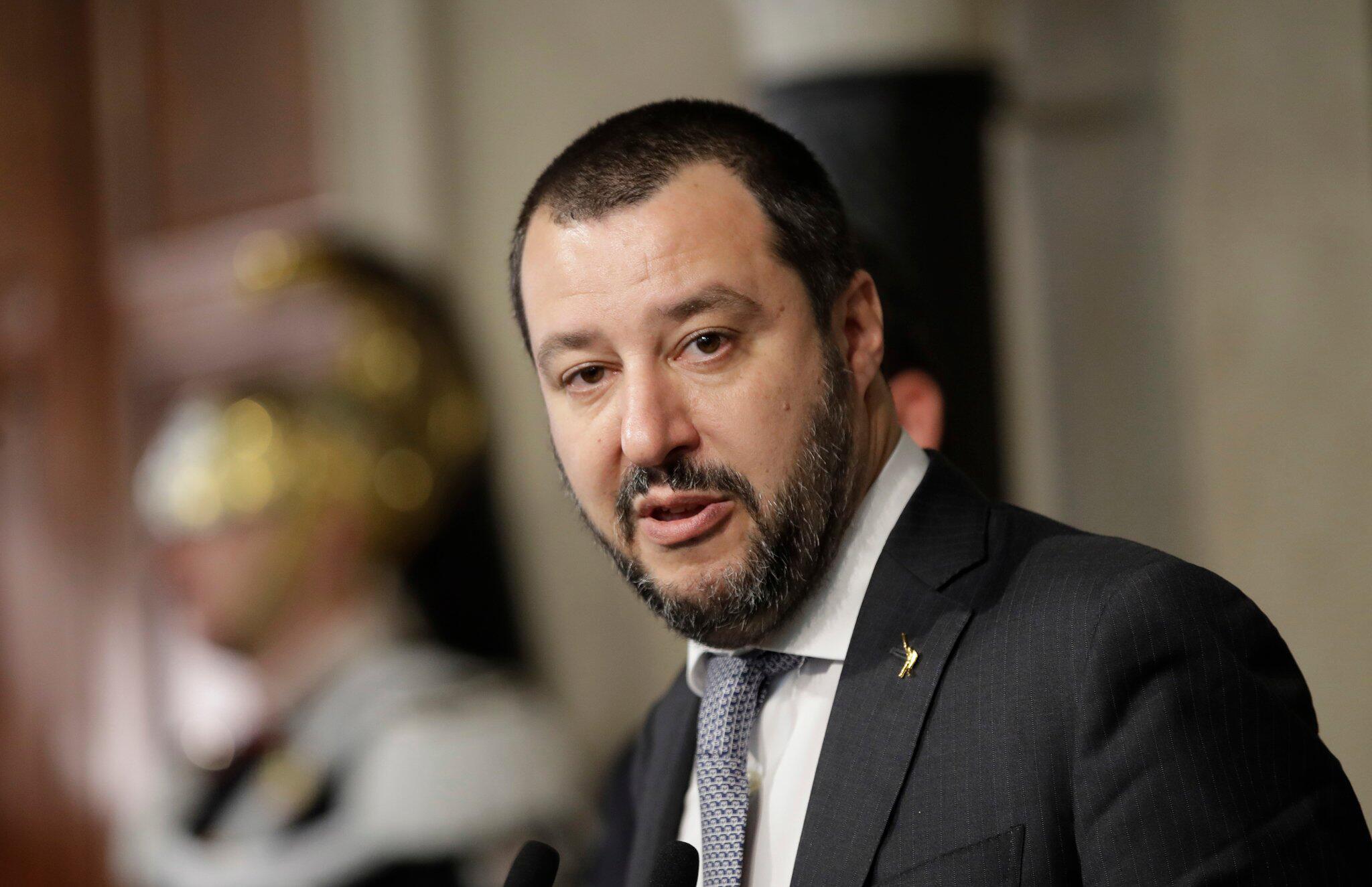 Bild zu Matteo Salvini,